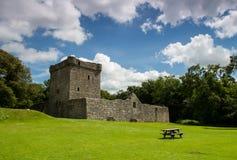Замок Шотландия Leven озера Стоковое фото RF