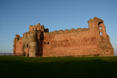 Замок Шотландия Tantallon Стоковые Изображения