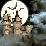 Замок шторма Стоковое Изображение