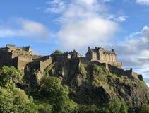 Замок Эдинбурга стоковые фото