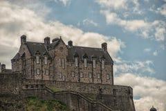 Замок Эдинбурга, Эдинбурга, шотландская история Стоковое фото RF