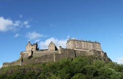 Замок Эдинбург стоковая фотография rf