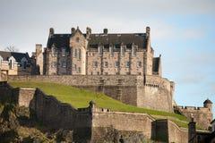 Замок Эдинбурга Стоковая Фотография