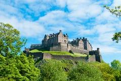 Замок Эдинбурга Стоковое фото RF