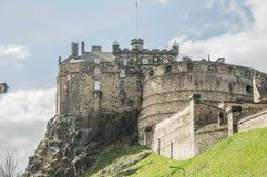 Замок Эдинбурга Стоковое Изображение