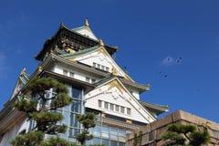 Замок Японии Стоковое Изображение RF