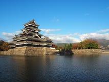 Замок Япония Мацумото стоковая фотография rf