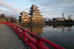 замок япония matsumoto Стоковая Фотография