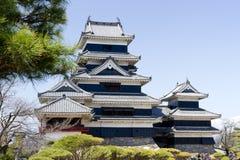 замок япония matsumoto Стоковые Фото