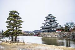 замок япония matsumoto Стоковая Фотография RF