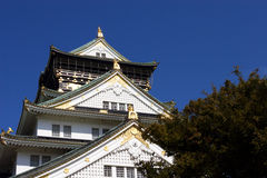 замок япония osaka стоковые изображения rf