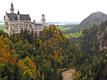Замок 06 Neuschwanstein Стоковые Фотографии RF