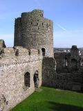 Замок 2 Kidwelly Стоковые Изображения RF