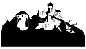 замок иллюстрация вектора
