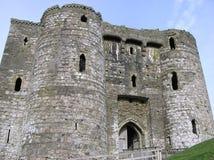 Замок 4 Kidwelly Стоковые Изображения RF