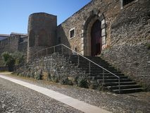Замок Abrantes Стоковая Фотография RF