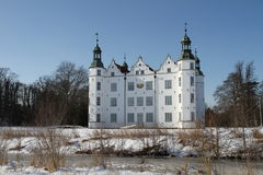 Замок Ahrensburg, Германии, Шлезвиг-Гольштейна Стоковые Изображения RF