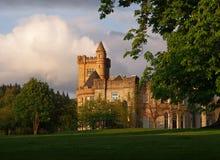 Замок Airthrey, Стерлинг стоковое фото rf