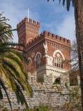 Замок Albertis в Генуе Италии Стоковые Изображения RF