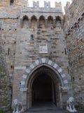 Замок Albertis в Генуе Италии Стоковые Изображения