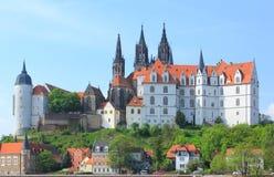 Замок Albrechtsburg Meissen Стоковое Фото