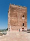 Замок Aledo башни Homenaje Стоковые Фотографии RF