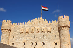 замок alexandria qaetbay Стоковая Фотография RF