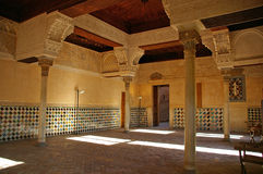 замок alhambra стоковое изображение rf