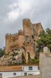 Замок Almansa, Испании Стоковое Изображение RF