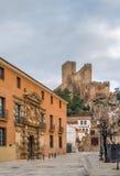 Замок Almansa, Испании Стоковое Фото