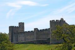 Замок, Alnwick, Англия Стоковые Изображения RF