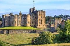 Замок Alnwick, Англия Стоковое фото RF