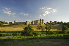 замок alnwick Стоковые Изображения RF