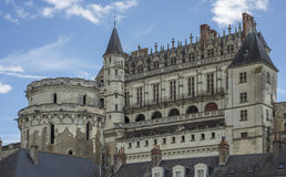 Замок Amboise Стоковые Изображения RF