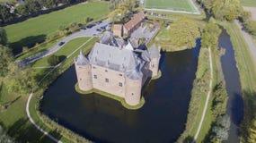 Замок Ammersoyen стоковая фотография rf