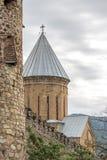 Замок Ananuri, комплекс замка на реке Aragvi в Georgia Стоковые Изображения RF