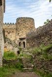 Замок Ananuri, комплекс замка на реке Aragvi в Georgia Стоковая Фотография