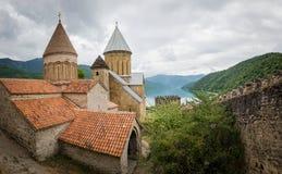 Замок Ananuri, Georgia Стоковое фото RF