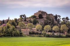 Замок Ansouis, Франции стоковое фото
