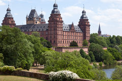 замок aschaffenburg Стоковая Фотография