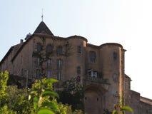 Замок Aubenas, Ardeche, Провансаль, Франция Стоковые Изображения RF