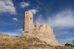 Замок Ayab в провинция Calatayud, Сарагосе, Арагон, Испания стоковое фото