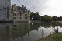Замок Azay le Rideau в Loire Valley Стоковая Фотография RF