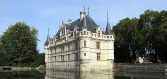 Замок Azay le Rideau Стоковое Изображение RF