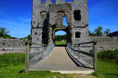 Замок Baconsthorpe, Норфолк, Великобритания стоковые фотографии rf