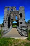 Замок Baconsthorpe, Норфолк, Великобритания стоковые фото