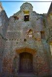 Замок Baconsthorpe, Норфолк, Великобритания стоковое фото rf