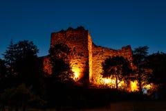 Замок Badenweiler, Badenweiler, черный лес, Германия стоковое фото