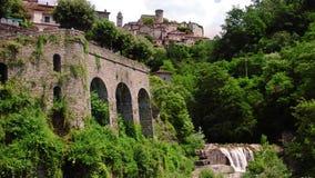Замок Bagnone сток-видео