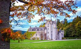 Замок Ballindalloch Стоковое Изображение